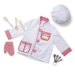 Chef Role Play Costume Set By Melissa & Doug
