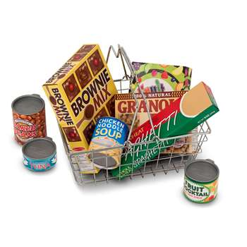 Grocery Basket With Food By Melissa & Doug