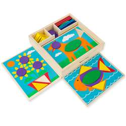 Beginner Pattern Blocks By Melissa & Doug