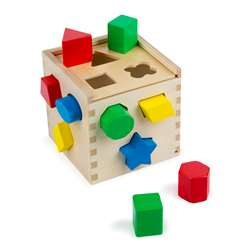 Shape Sorting Cube By Melissa & Doug