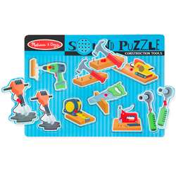 Construction Tools Sound Puzzle, LCI733