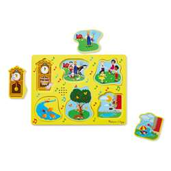 Nursery Rhymes 1 Sound Puzzle Sing Along, LCI735