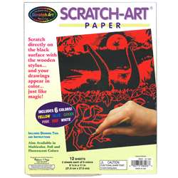 S Art Paper Solid Colors 12/Pk, LCI8003