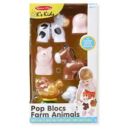 Pop Blocs Farm Animals, LCI9196