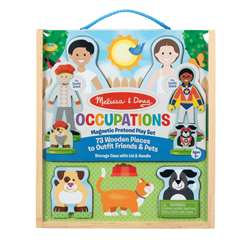 Occupations Magnetic Pretend Play Set, LCI9309