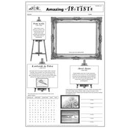 Amazing Artists Poster Papers, LEP901069LE