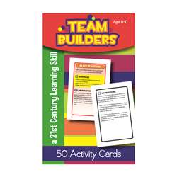 Team Builders Flash Cards Gr 3-4, LEP901107LE