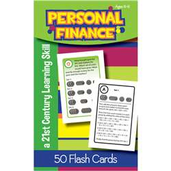Personal Finance Flash Cards Gr 3, LEP901109LE