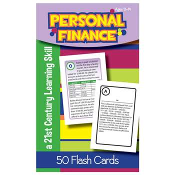 Personal Finance Flash Cards Gr 8, LEP901114LE