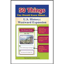 50 Things You Should Know About Us History Westwar, LEP901124LE