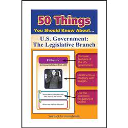 50 Things You Should Know About Us Government The , LEP901131LE