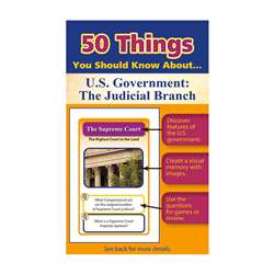 50 Things You Should Know About Us Government The , LEP901132LE