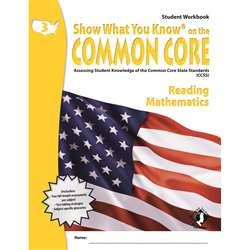 Gr 3 Student Workbook Readying & Math Show What You Know On The By Milliken Lorenz Educational Press