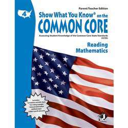 Gr 4 Parent Teacher Edition Reading & Math Show What You Know On The By Milliken Lorenz Educational Press