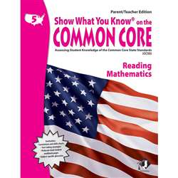 Gr 5 Parent Teacher Edition Reading & Math Show What You Know On The By Milliken Lorenz Educational Press