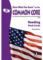 Shop Reading Gr 8 Show What You Know On The Common Core Flash Cards - Lepna5805 By Milliken Lorenz Educational Press