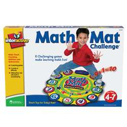 Math Mat Challenge Game Gr Pk & Up By Learning Resources