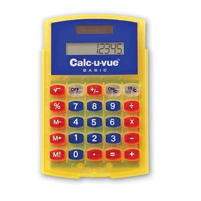 Basic Student Calc-U-Vue 10-Pk 3-1/4W X 4-5/8H By Learning Resources
