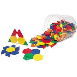 Pattern Blocks Plastic .5Cm 250/Pk By Learning Resources