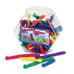 Wiggley Jiggley Worm Counters 72 Pieces By Learning Resources