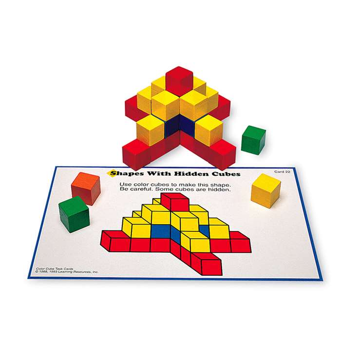Creative Color Cubes Activity Set By Learning Resources