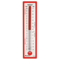 Demonstration Thermometer 24 X 5-3/4 Fahrenheit/Celsius By Learning Resources