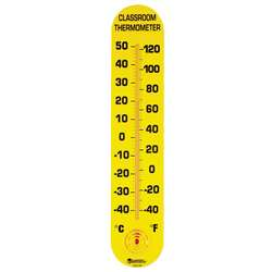Classroom Thermometer 15H X 3W Fahrenheit/Celsius By Learning Resources