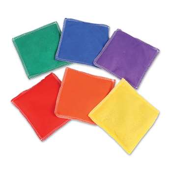 Bean Bags Rainbow 6/Pk By Learning Resources