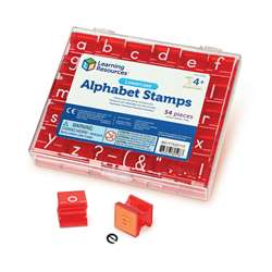 Lowercase Alphabet & Punctuation Stamps By Learning Resources