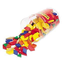 Pattern Blocks Plastic 1Cm 250/Pk By Learning Resources