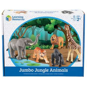 Jumbo Jungle Animals By Learning Resources