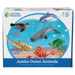 Jumbo Ocean Animals By Learning Resources