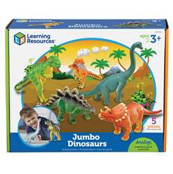 Jumbo Dinosaurs Set Of 5 By Learning Resources