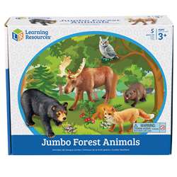 Jumbo Animals - Forest Animals By Learning Resources