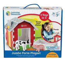 Jumbo Farm Play Set, LER0831