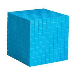 Base Ten Cube Plastic Bl 10X10X10Cm By Learning Resources