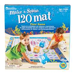 Shop Make A Splash 120 Mat - Ler1772 By Learning Resources
