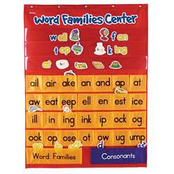 Word Families & Rhyming Center Pocket Chart By Learning Resources