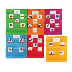 Magnetic Pocket Chart Squares, LER2386