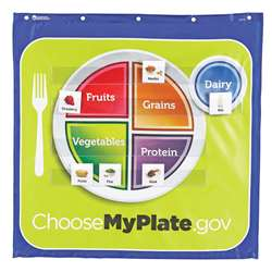 Healthy Helpings A Myplate Pocket Chart By Learning Resources