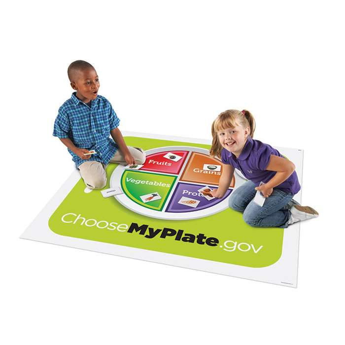 Healthy Helpings A Myplate Activity Mat By Learning Resources