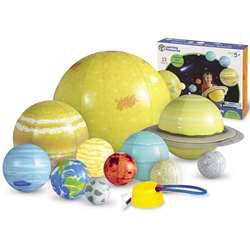 Inflatable Solar System Demonstration Set By Learning Resources