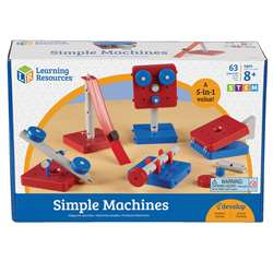 Simple Machines Set Of 5 By Learning Resources