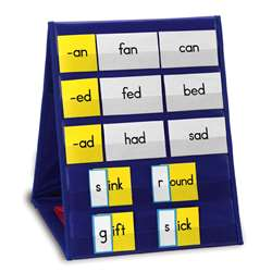 Tabletop Pocket Chart Single By Learning Resources