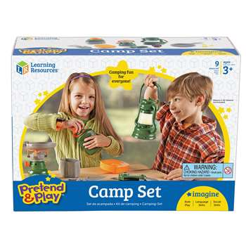 Pretend And Play Camp Set By Learning Resources
