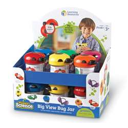 Big View Bug Jars Pop Display 12Set By Learning Resources