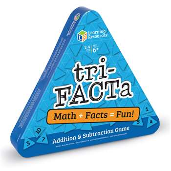 Tri Facta Addition And Subtraction Game By Learning Resources