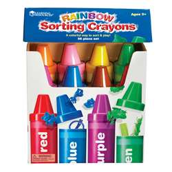 Rainbow Sorting Crayon By Learning Resources