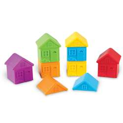 All About Me Sort & Match Houses, LER3370