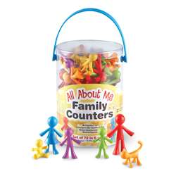 All About Me Family Counters 72 Set By Learning Resources